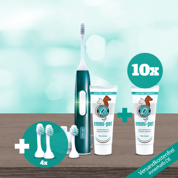 emmi®-pet scoop package (small brushes)