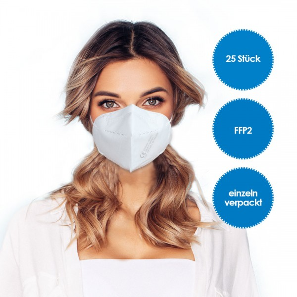 FFP2 Respirator Mask pack of 25