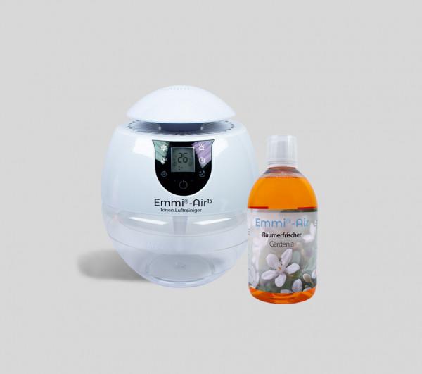 Emmi®-Air Ion Air Purifier + Room Freshener Gardenia