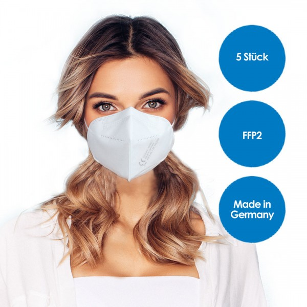 FFP2 Respirator mask pack of 5