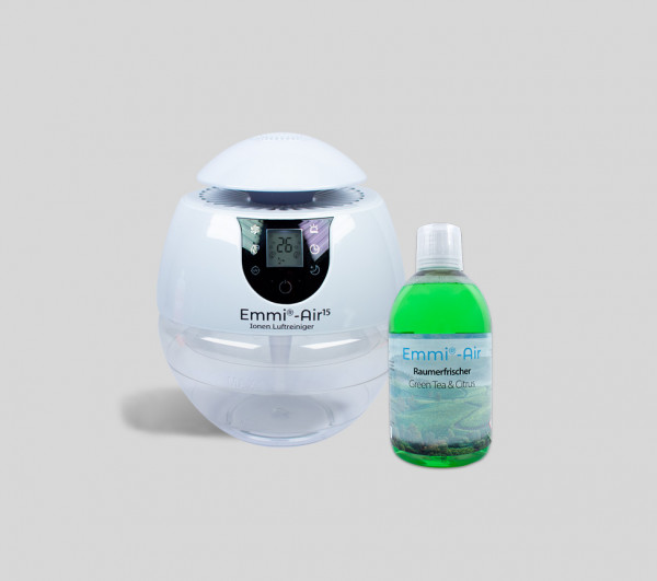 Emmi®-Air Ion Air Purifier + Room Freshener Citrus & Green Tea