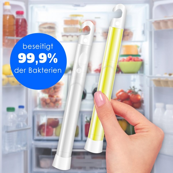 Knick`n`clean sticks for refrigerator disinfection