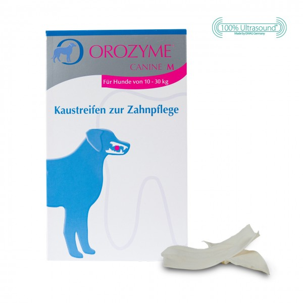 Orozyme® Canine - Chew Strips for dental care M