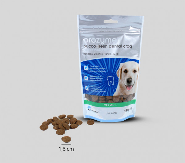 Orozyme® Bucco-Fresh Dental Croq for dogs over 10 kg