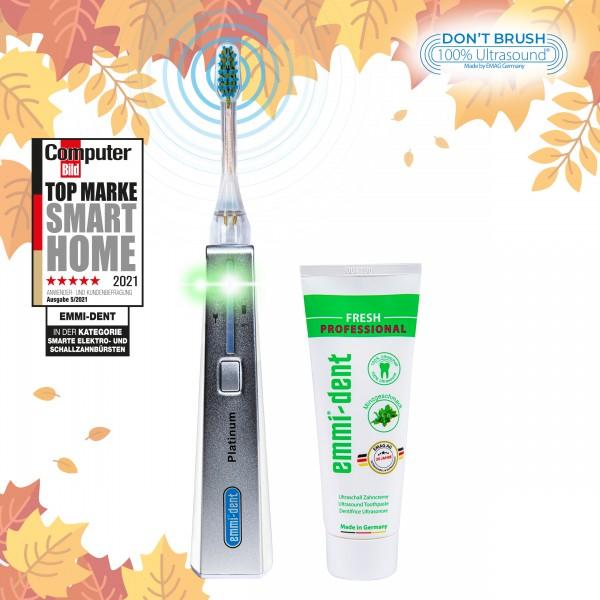Ultrasonic toothbrush Platinum White