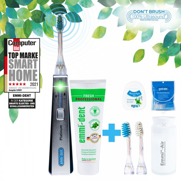 Ultrasonic toothbrush Platinum Carbon+Humidifier
