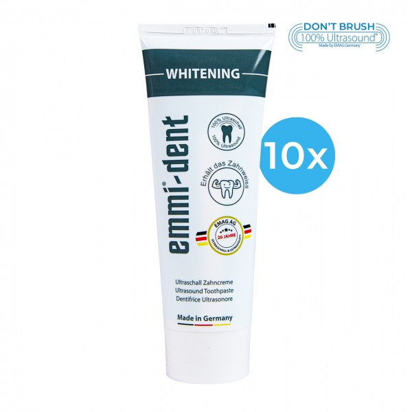 "Ultrasonic Toothpaste - ""whitening"" 10"