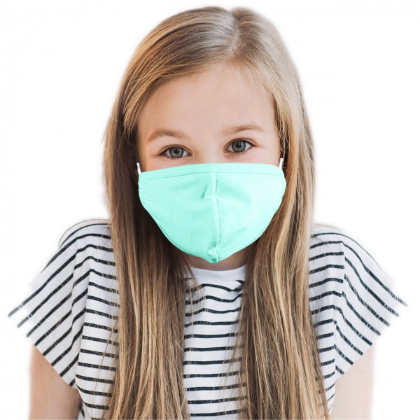 Children mouth and nose mask *mint*