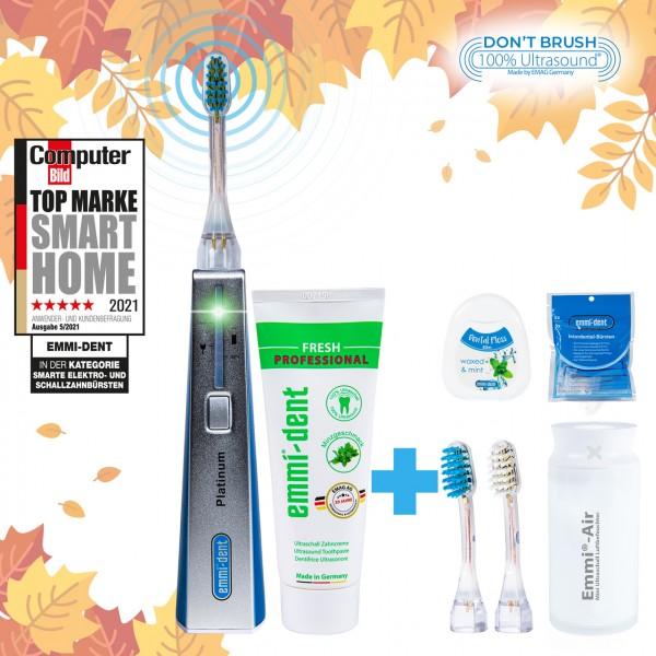 Ultrasonic toothbrush Platinum Blue+Humidifier