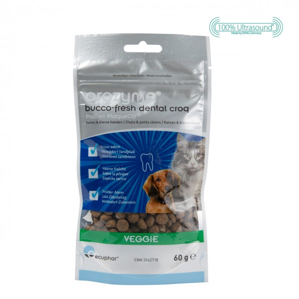 Orozyme® Bucco-Fresh Dental Croq for cats and dogs under 10 kg