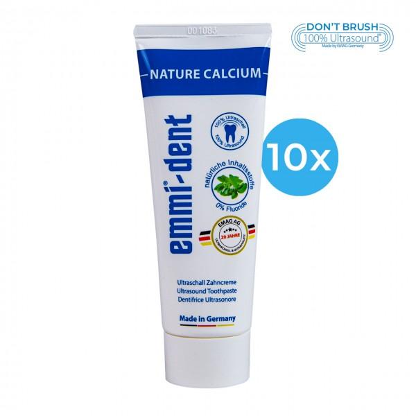 """Ultrasonic Toothpaste - """"nature calcium"""" 10"""