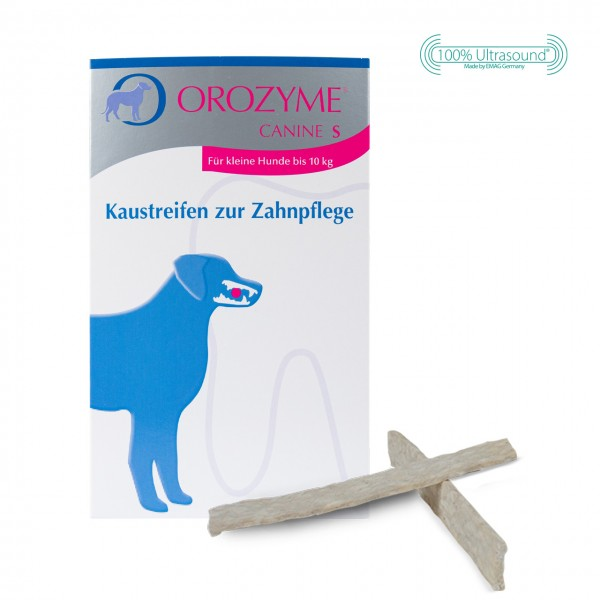 Orozyme® Canine - Chew Strips for dental care S