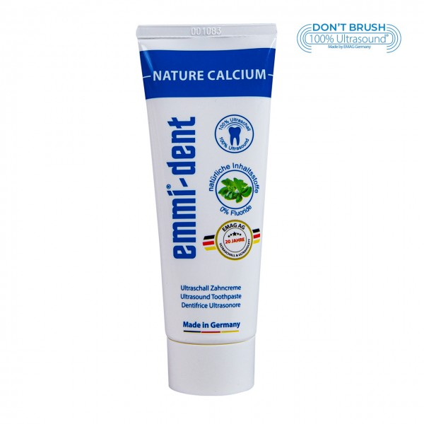 "Ultrasonic Toothpaste - ""nature calcium"" without packaging"