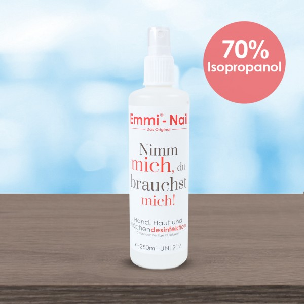 Emmi®-Nail Hand and surface disinfectant - 250ml