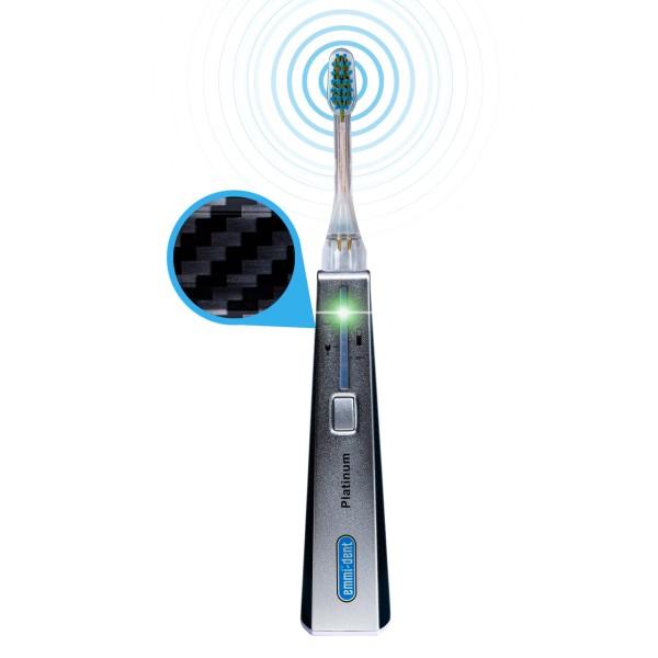 Ultrasonic toothbrush - Platinum Basis Set Carbon