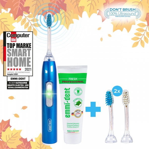 Ultrasonic Toothbrush - Metallic Blue